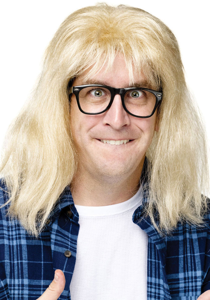 Garth Algar Kit Wig and Glasses, Wayne's World Saturday Night Live
