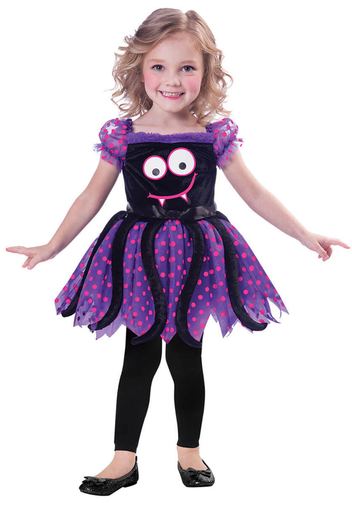 Cute Spider Child Halloween Costume