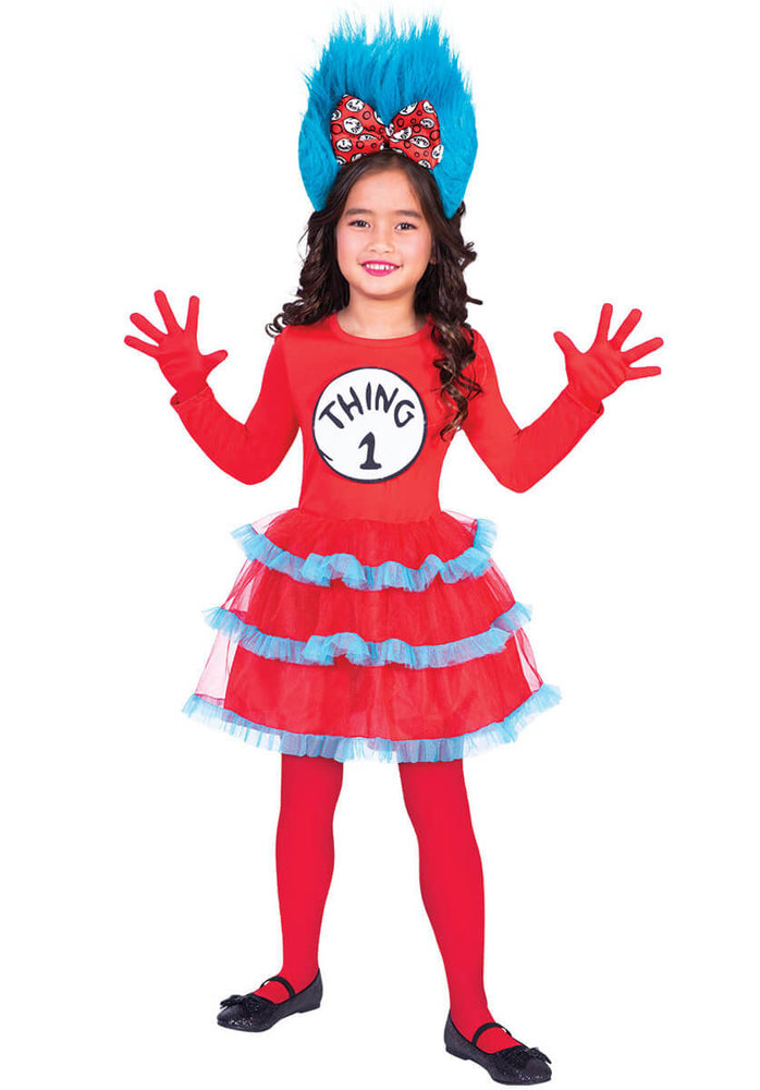 Thing 1 and Thing 2 Dress Set