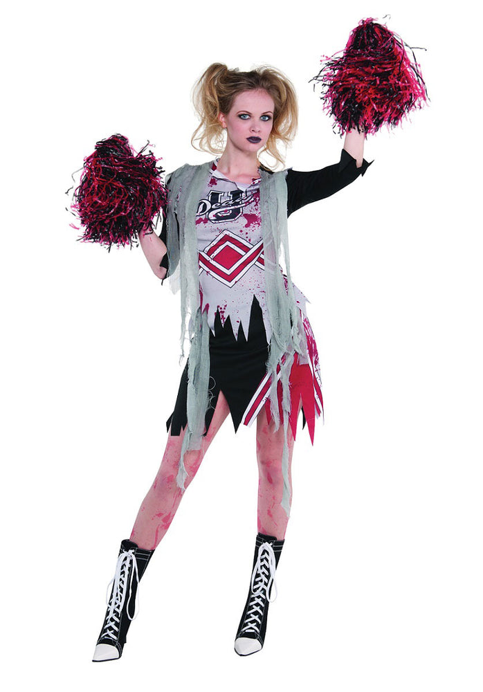 Cheerless Zombie Cheerleader
