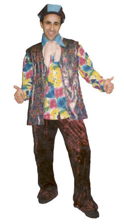 1970s Man Flowery A70