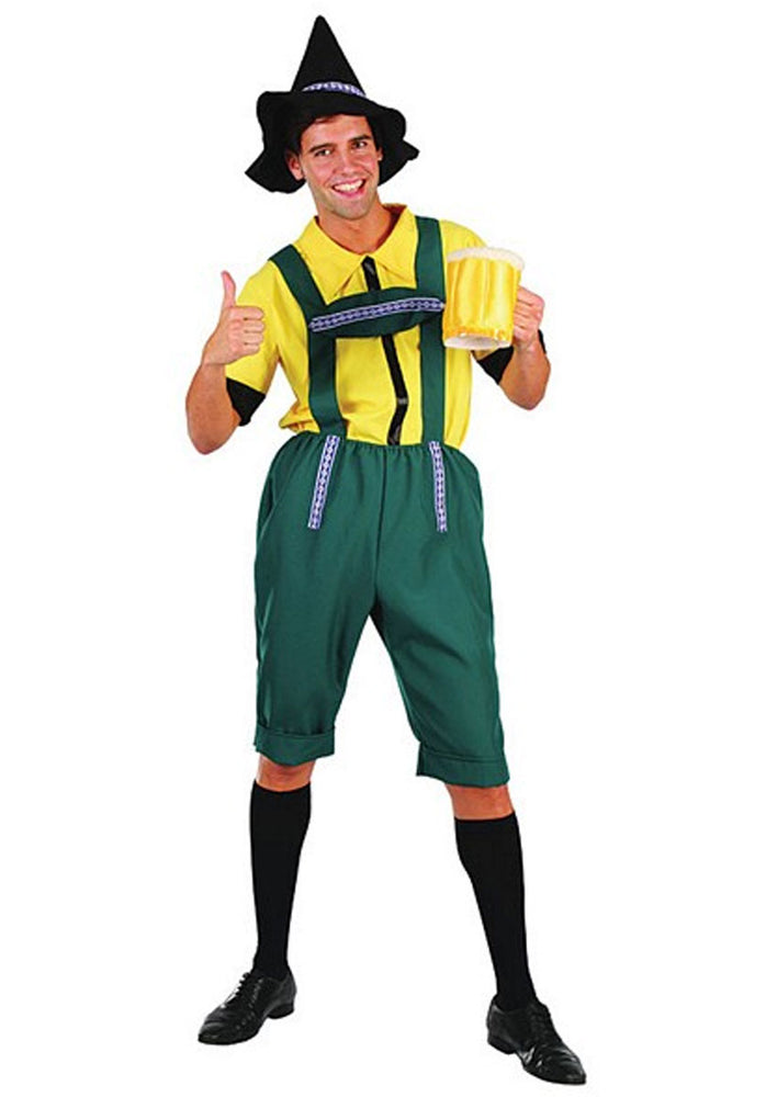 German Beer Man Costume, Oktoberfest Fancy Dress