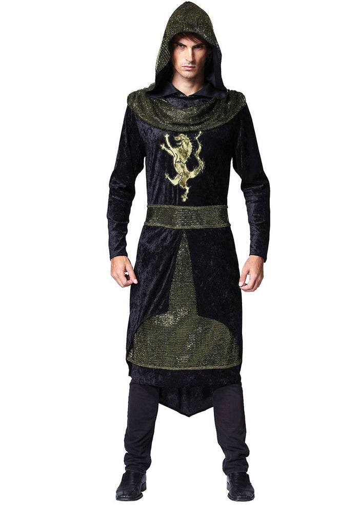 Medieval Hooded Prince Costume