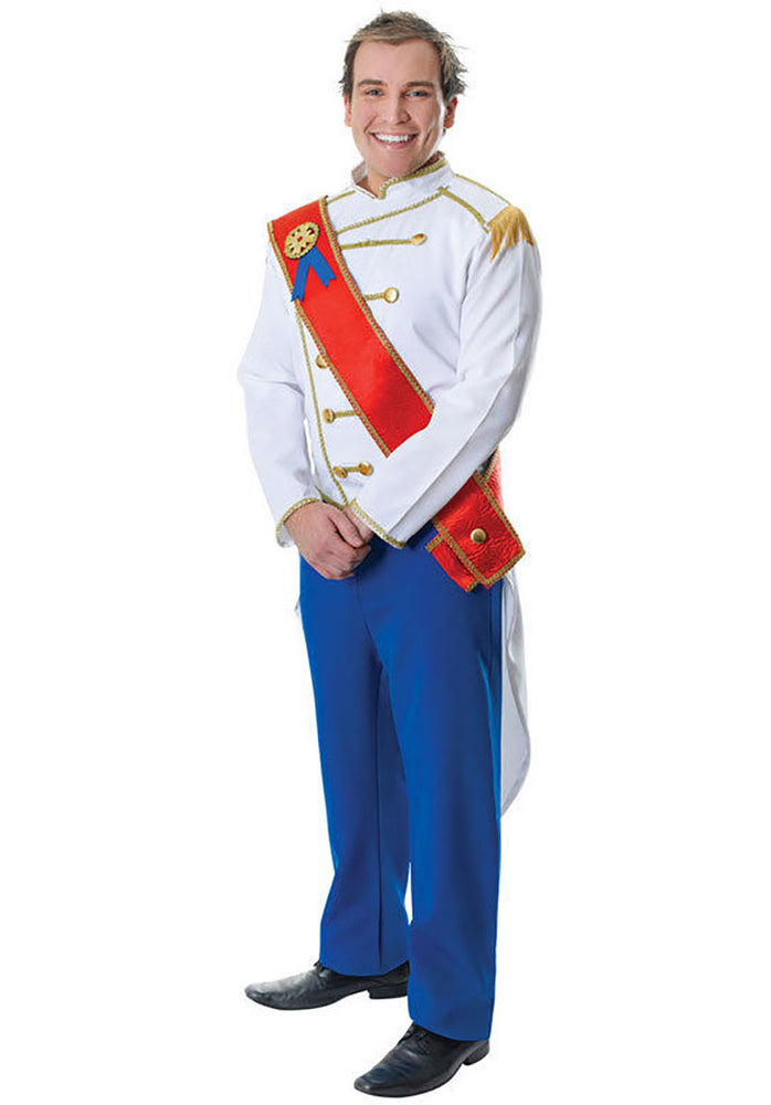 Prince Charming Costume Adult Male Fancy Dress
