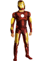 Iron Man Costume Deluxe Child, Official Marvel Costume