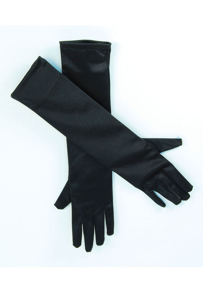 Gloves Black Satin 19inch