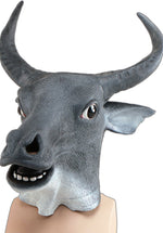 Adult Cow/Bull Mask, Full Head and made of Rubber