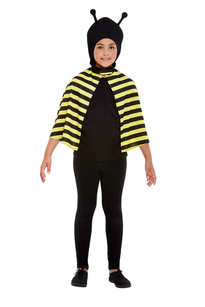 Smiffys Bumblebee Hooded Cape - 41161