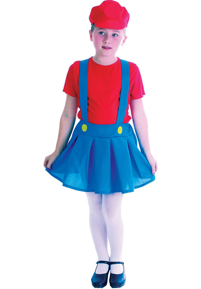 Girls Plumber's Mate Costume