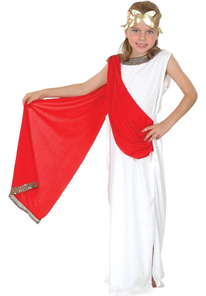 Roman Goddess Costume, Child