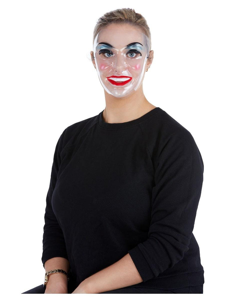 Smiffys Transparent Mask, Female - 52365