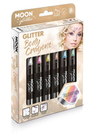 Moon Glitter Holographic Body Crayons - Assorted