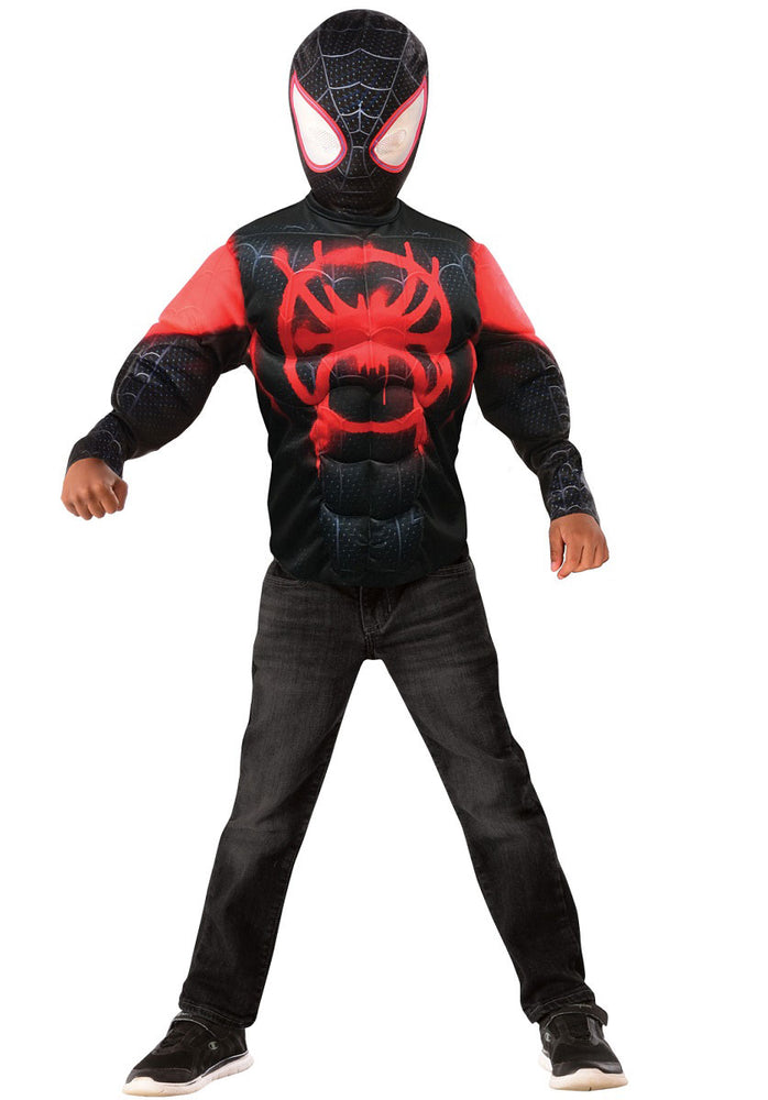 Miles Morales Into the Spider-Verse Child Costume Set