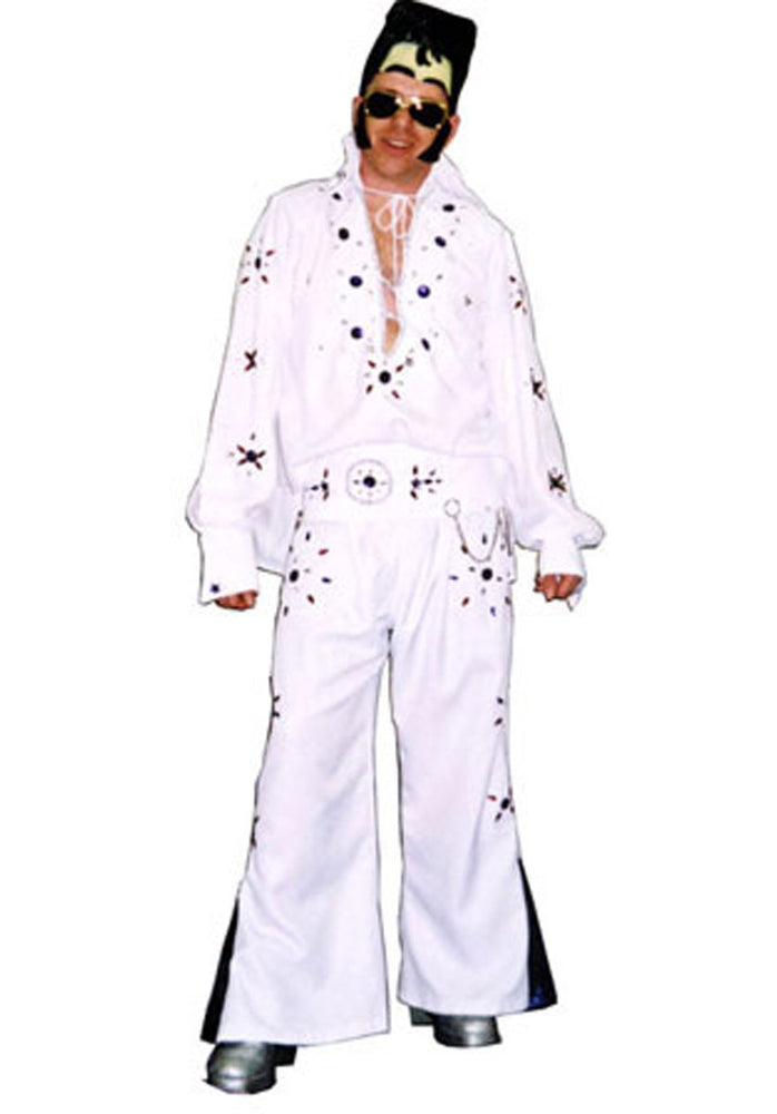 Elvis Costume, White and Blue G38