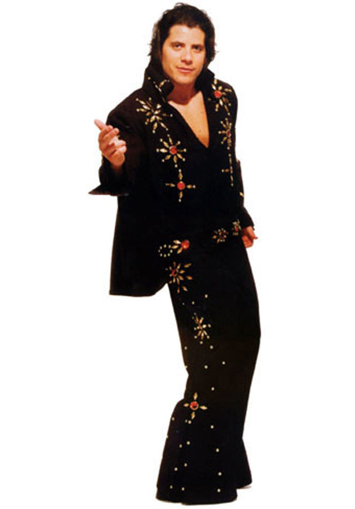 Elvis Black Costume H67