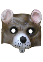 Rat Half Face Rubber Animal Mask