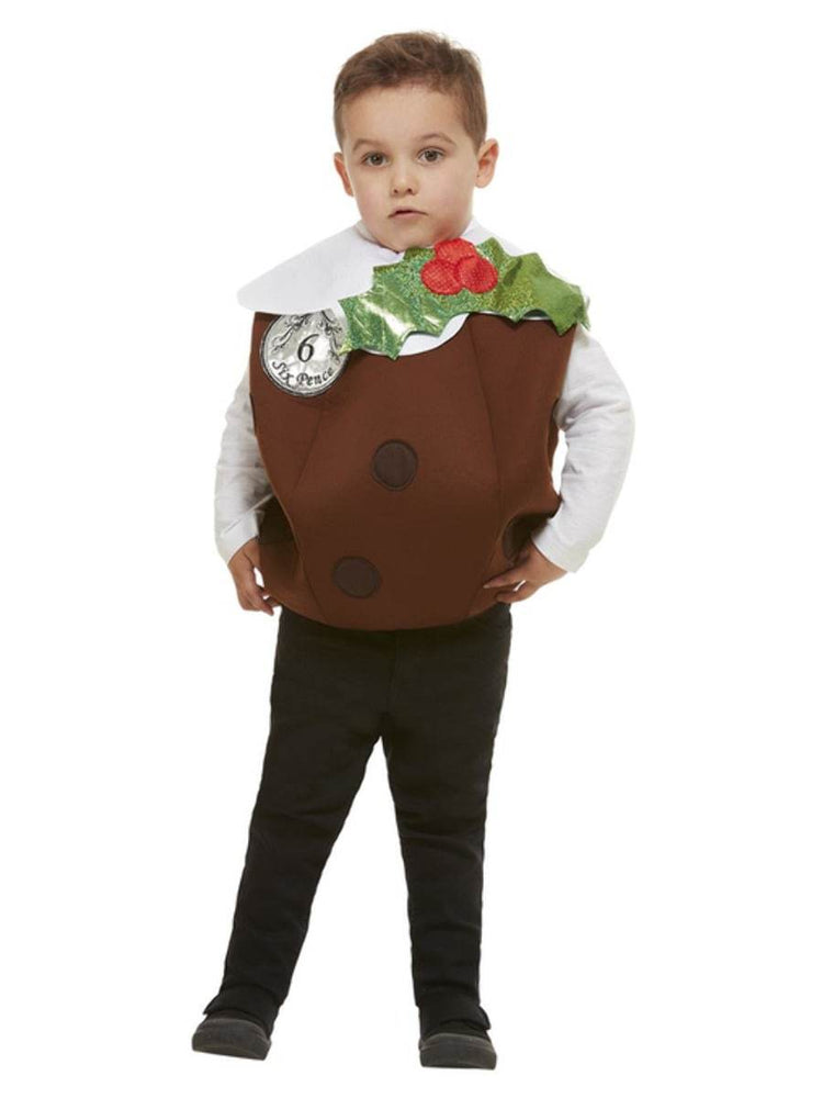 Smiffys Kids Christmas Pudding Costume - 61035