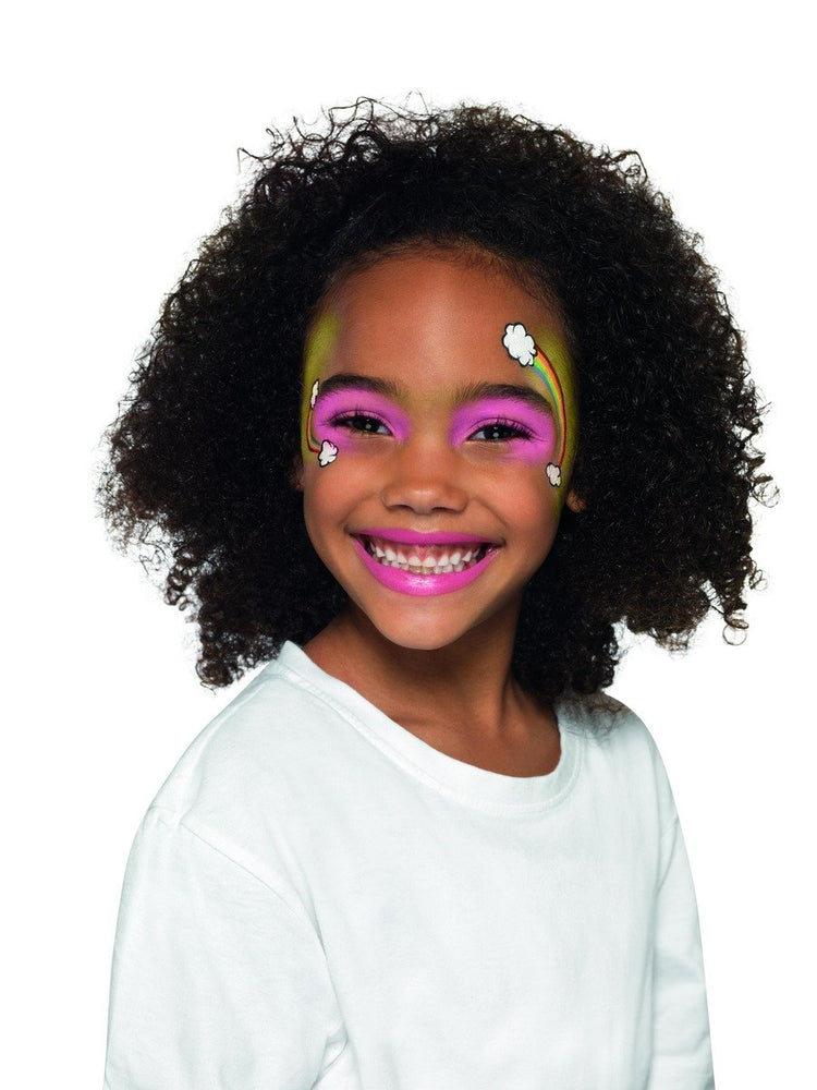 Smiffys Kids Five Character Make Up Kit, Aqua - 50780