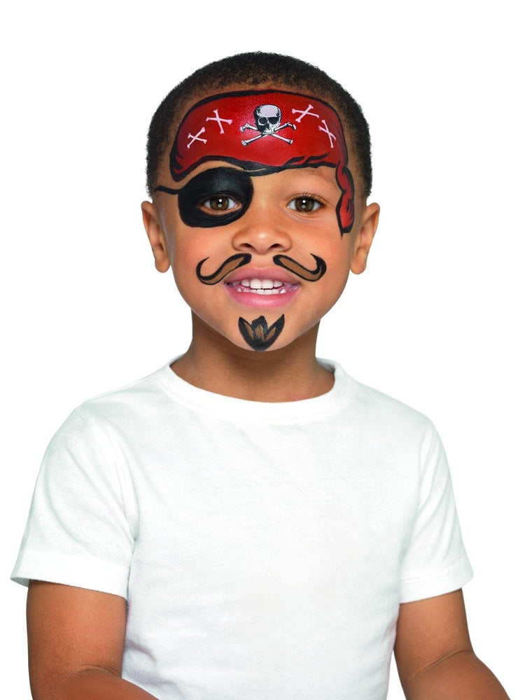 Smiffys Kids Pirate Make Up Kit - 50777