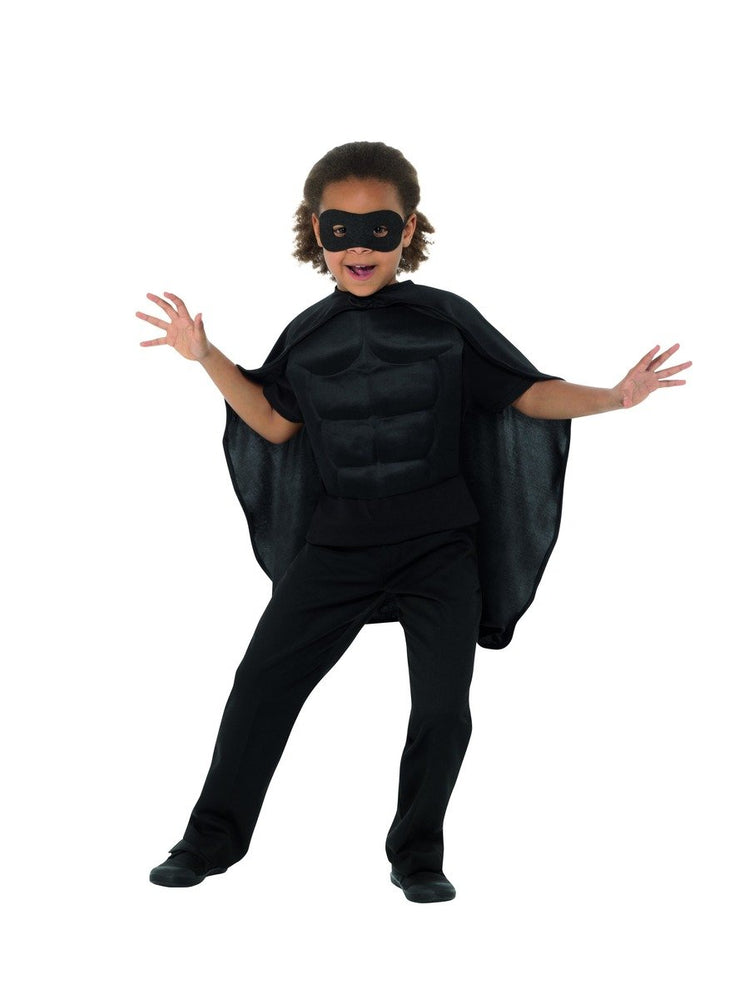 Superhero Kit, Kids, Black