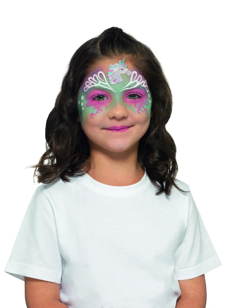 Smiffys Kids Unicorn Make Up Kit, Aqua - 50775