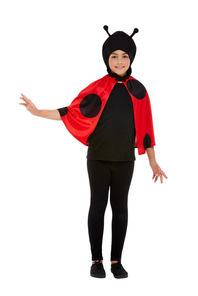 Smiffys Ladybird Hooded Cape - 41162