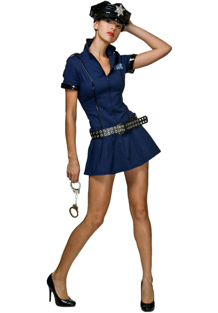 Police Babe Costume, Mystery House™