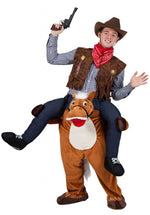 Adult Carry Me Horse Costume