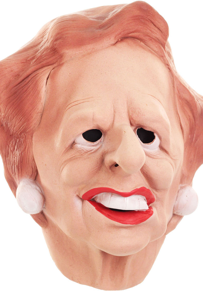 Margaret Thatcher Caricature Mask