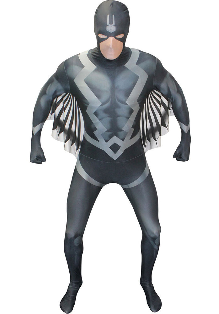 Official Marvel Black Bolt Morphsuit Adults