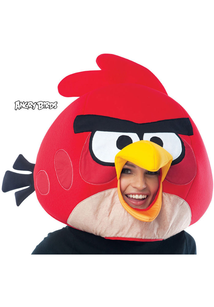 Red Angry Birds Mask for Adults