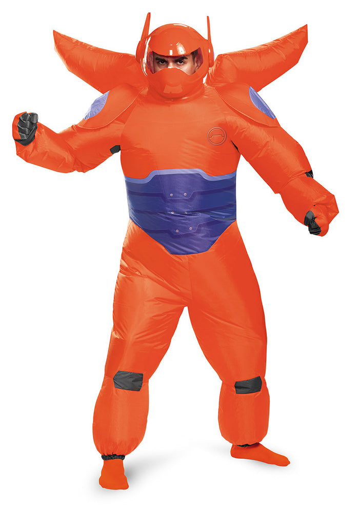 Red Baymax Inflatable Costume - Big Hero 6 Disney Adult One Size