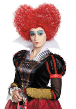 Red Queen Deluxe Adult Wig