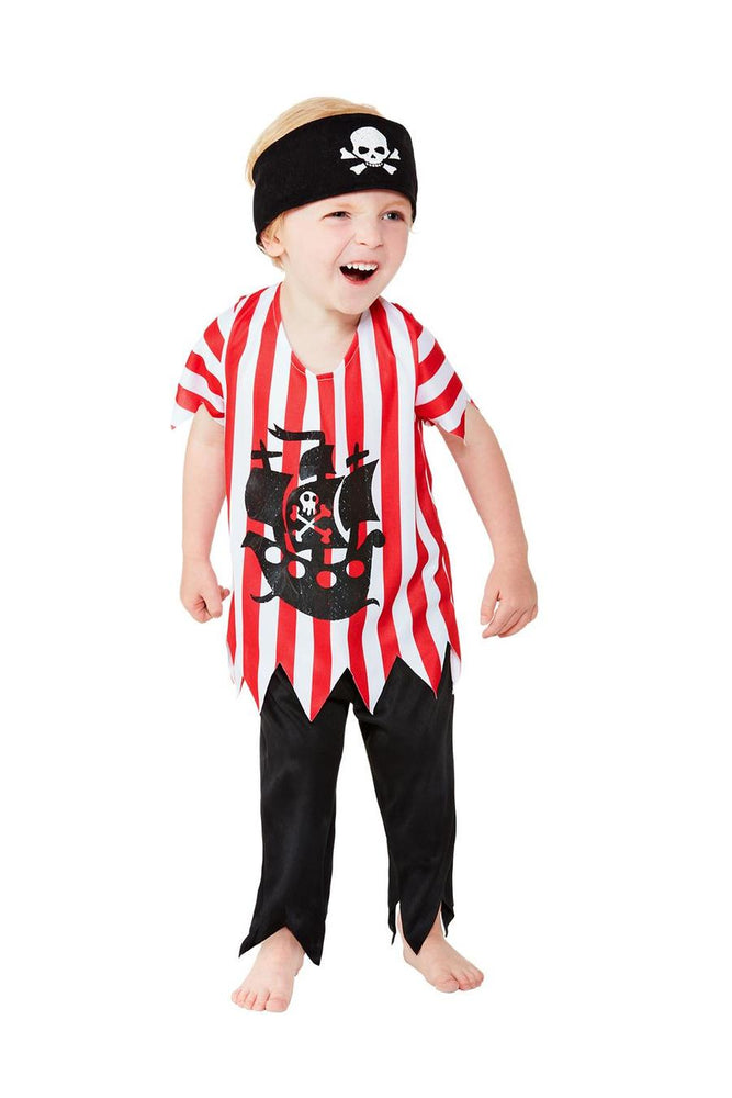 Jolly Pirate Costume, Toddler