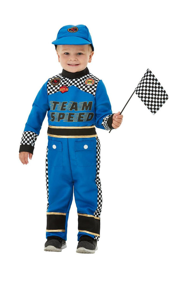Racing Car Driver Costume Toddler