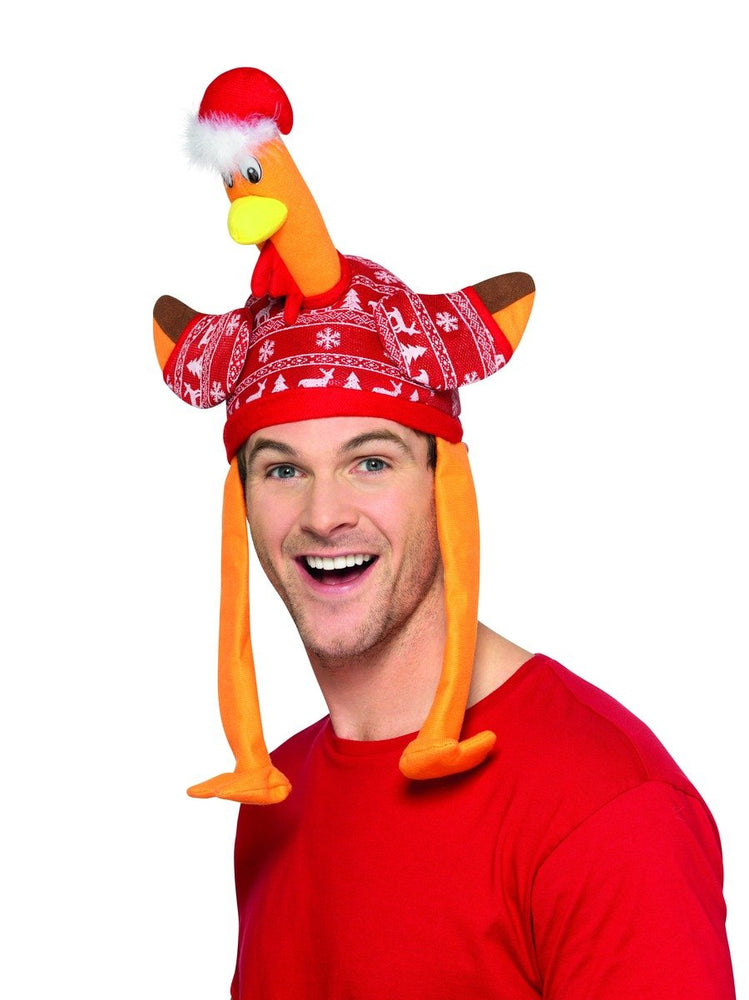 Smiffys Christmas Turkey Hat - 49134