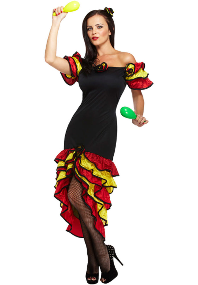 Adult Ladies Rumba Costume