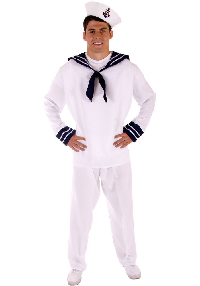Adult Sailor Complete Costume, Bargain Fancy Dress