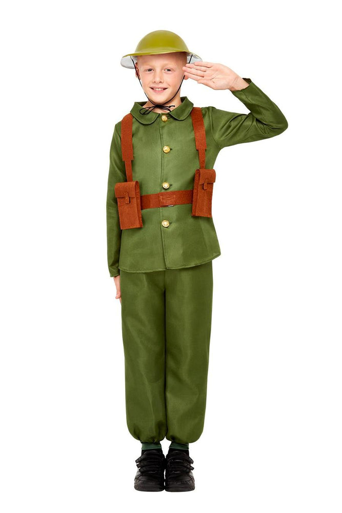 Smiffys WW1 Soldier Costume - 47744
