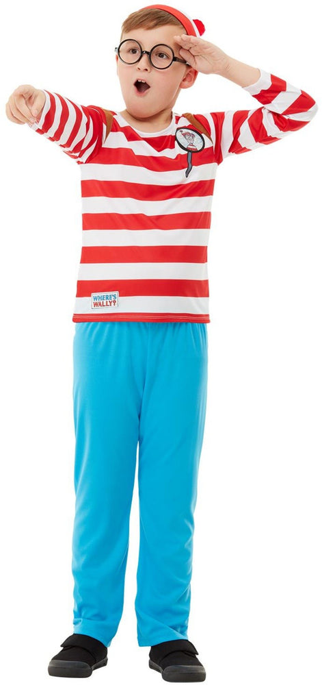 Where's Wally? Deluxe Child Costume