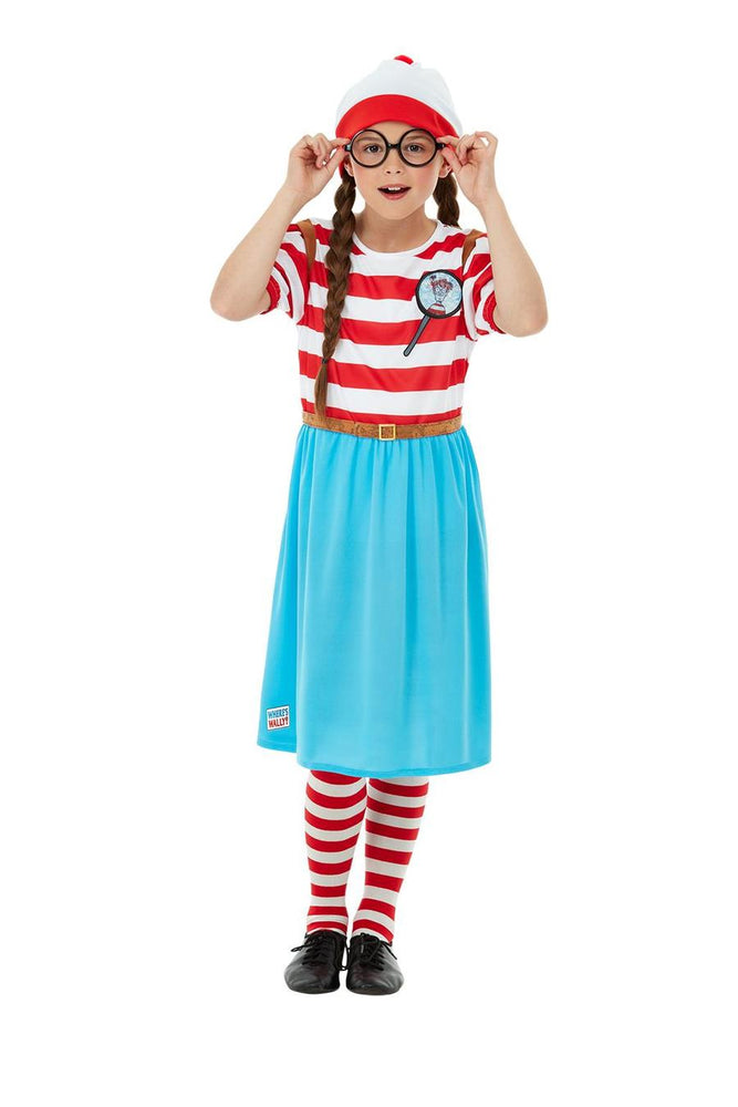 Where's Wally Wenda Child Deluxe Costume