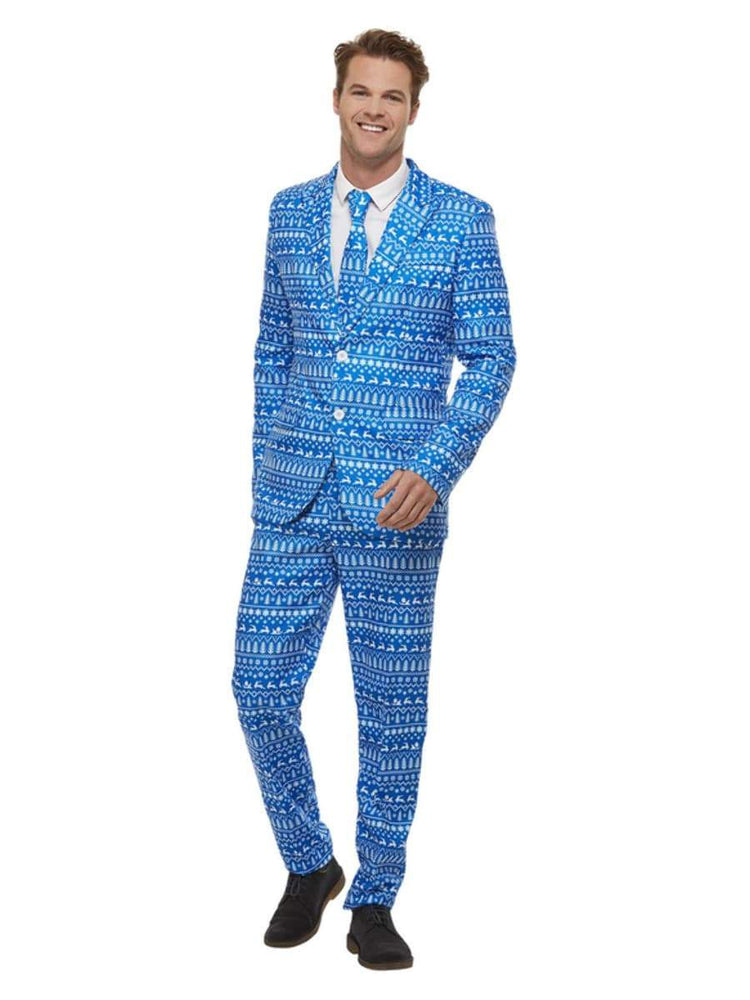 Smiffys Christmas Wrapping Paper Suit - 61020
