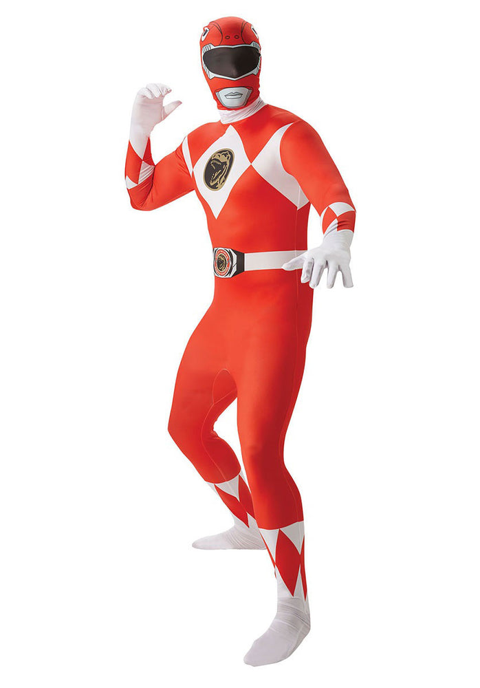 Power Ranger Red 2nd Skin, Adult Costume