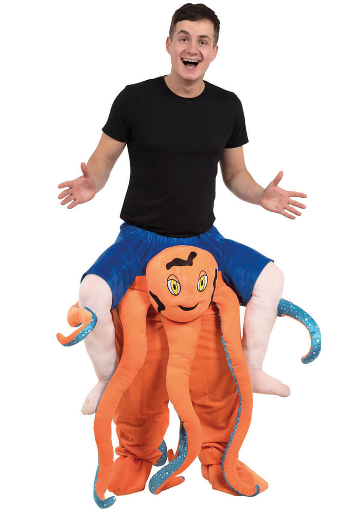 Octopus Piggyback Costume