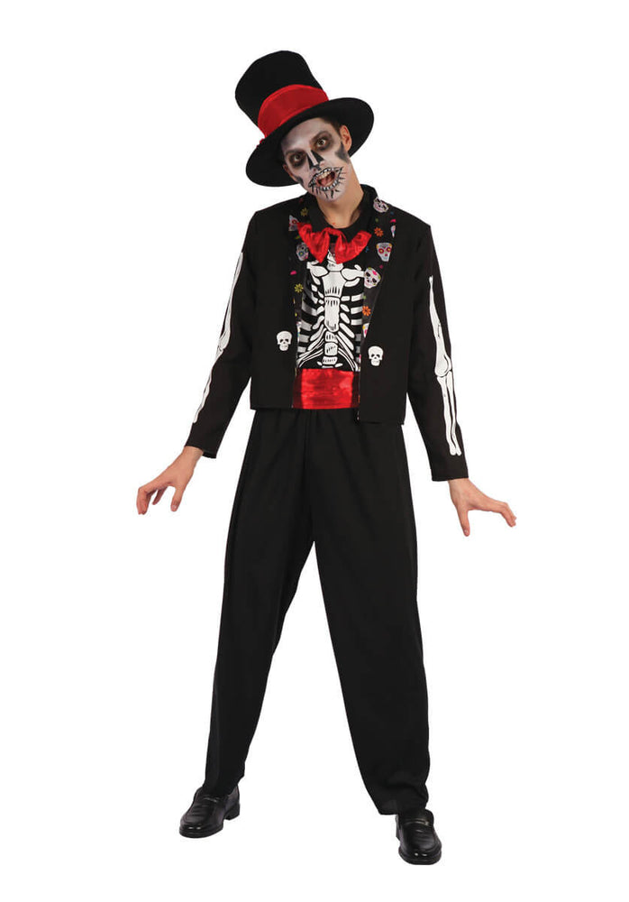 Day of the Dead Bone Suit