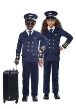 Airplane Pilot Unisex Child Costume