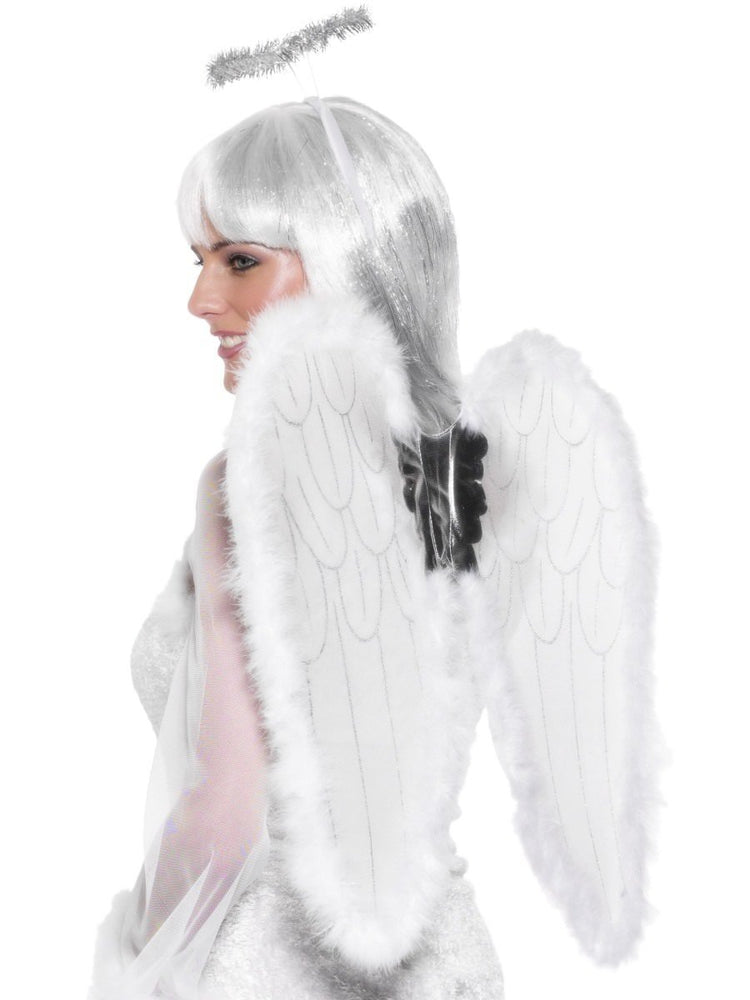 Wings Halo White Angel Set