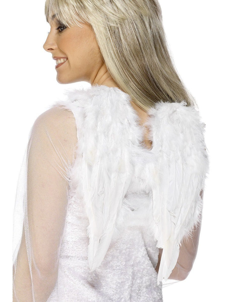Feather Wings small  White