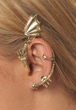 Auric Dragon Ear Cuff