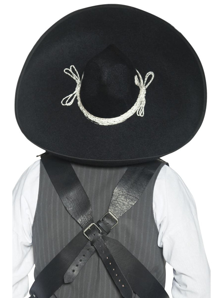 Authentic Mexican Bandit Sombrero32966